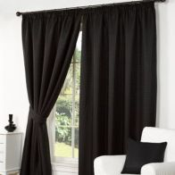 "See more information about the Hamilton McBride Fusion Waffle Curtains (45"" x 54"") - Black"