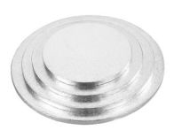 See more information about the 8 Inch Round Silver Cake Board