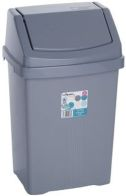 See more information about the Wham Swing Bin Silver 15L