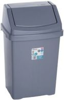 See more information about the Swing Bin Silver 25L