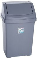 See more information about the Wham Swing Bin Silver 50L