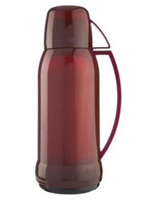 Thermos 1.0LJupiter 38 Translucent Flask Red