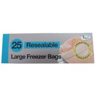 See more information about the 25pk Zip Loc Freezer Bags