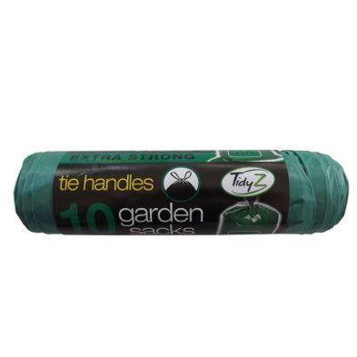 10 Tie Handle Garden Bags