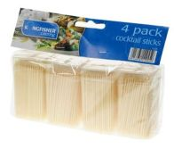 See more information about the Kingfisher Cocktail Sticks 4 x 200 Pk