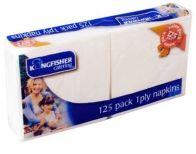 See more information about the White Serviettes 1ply