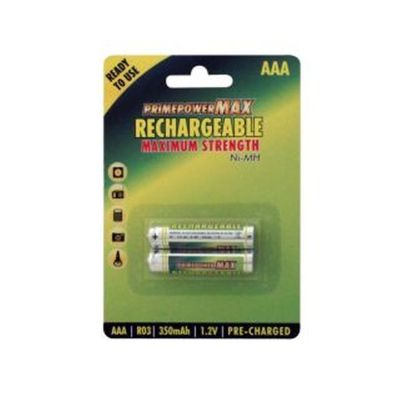 2pk Rechargeable Aaa Batteries