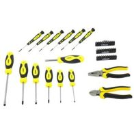 See more information about the Rolson Screwdriver Pliers & Bit Set 45 Piece