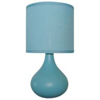 See more information about the Teardrop Table Lamp - Aqua