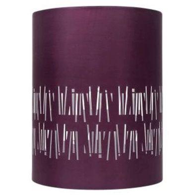 Cylinder Pendant Lamp Shade - Plum