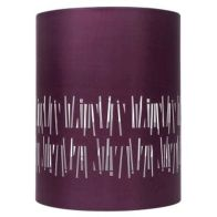 See more information about the Plum Cylinder Pendant Lamp Shade