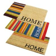 See more information about the PVC Coir Home Stripe Doormat 40x70cm