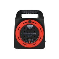 See more information about the Extension Reel 13 Amp 4 Socket Outlet (15Metre)