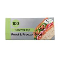 See more information about the 100 Sandwich Bags Turnover Top