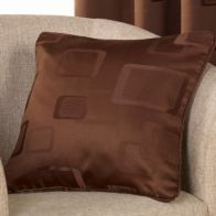 See more information about the Milano Cushion Covers Chocolate