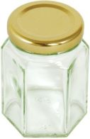 See more information about the Hexagonal Preserve Jar 4oz