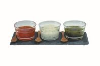See more information about the Slate Dipping Set
