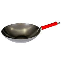 See more information about the 30cm Carbon Steel Wok (Black)