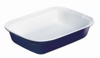 See more information about the Pyrex 24cm Blue Square Roaster