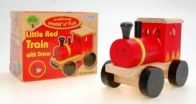 See more information about the Wood Little Red Train
