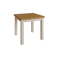 See more information about the Westbridge Light Oak & Dove Grey Flip Top Dining Table