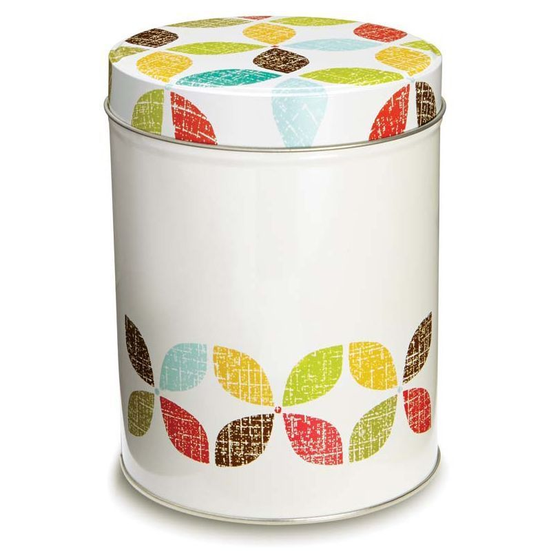 retro kitchen canister cream buy online at qd stores typhoon vintage cream 4 piece bread bin and canister set