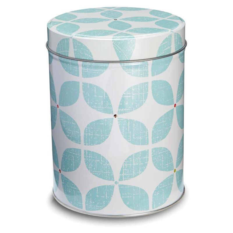 Retro Kitchen Canister Blue