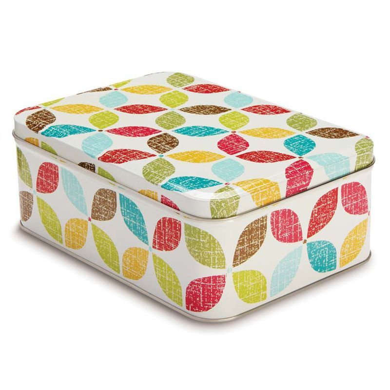 retro kitchen rectangular tin buy online at qd stores