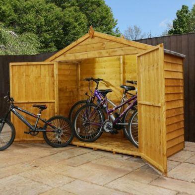 Overlap Apex Bike Garden Storage