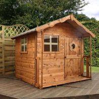 "See more information about the Mercia Tulip Children's Garden Playhouse 5'1"" x 3'7"""