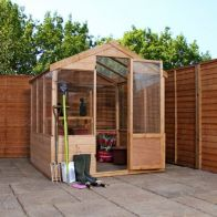 See more information about the Mercia Apex Garden Greenhouse (4' x 6')