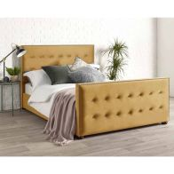 See more information about the Savannah Velvet Gold 3ft Single Bed Frame