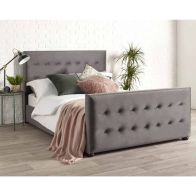 See more information about the Savannah Velvet Grey 3ft Single Bed Frame