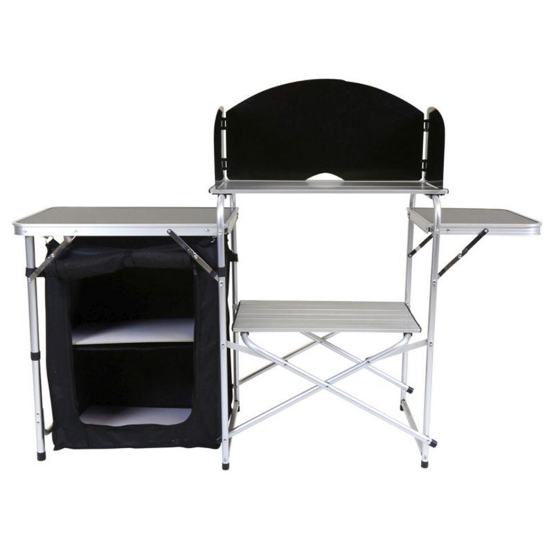 Kitchen Storage Unit: Folding Kitchen Camping Storage Unit Portable Outdoor