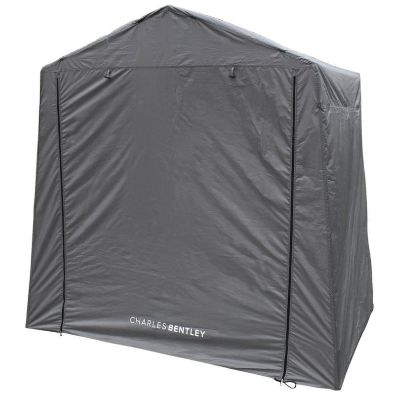Camping Tent Extension Shelter Porch Canopy Awning - Grey