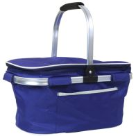 See more information about the 30L Extra Large Insulated Collapsible Picnic Cool Bag Hamper - Blue