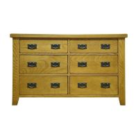See more information about the Montacute Oak 6 Drawer Chest