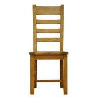 See more information about the Montacute Oak Ladderback Wooden Chair