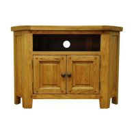 See more information about the Montacute Oak 2 Door Corner TV Unit