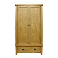 See more information about the Montacute Oak Gents Double Wardrobe