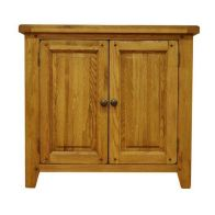 See more information about the Montacute Oak Large 2 Door Cupboard
