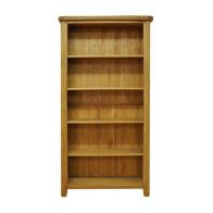 See more information about the Montacute Oak Large Wide 5 Shelf Bookcase
