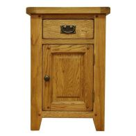 See more information about the Montacute Oak Small 1 Door 1 Drawer Cupboard