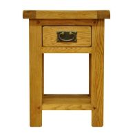 See more information about the Montacute Oak 1 Drawer Side Table