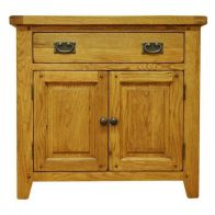 See more information about the Montacute Oak Small 2 Door 1 Drawer Sideboard