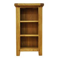 See more information about the Montacute Oak Small Narrow 3 Shelf Bookcase