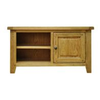 See more information about the Montacute Oak 1 Door 2 Shelf TV Unit