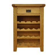 See more information about the Montacute Oak 1 Drawer Wine Cabinet