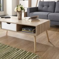 See more information about the Stockholm Coffee Table - White Oak