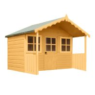 See more information about the Shire Stork Garden Playhouse & Veranda 6' x 4'